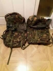 2 XL Army bags