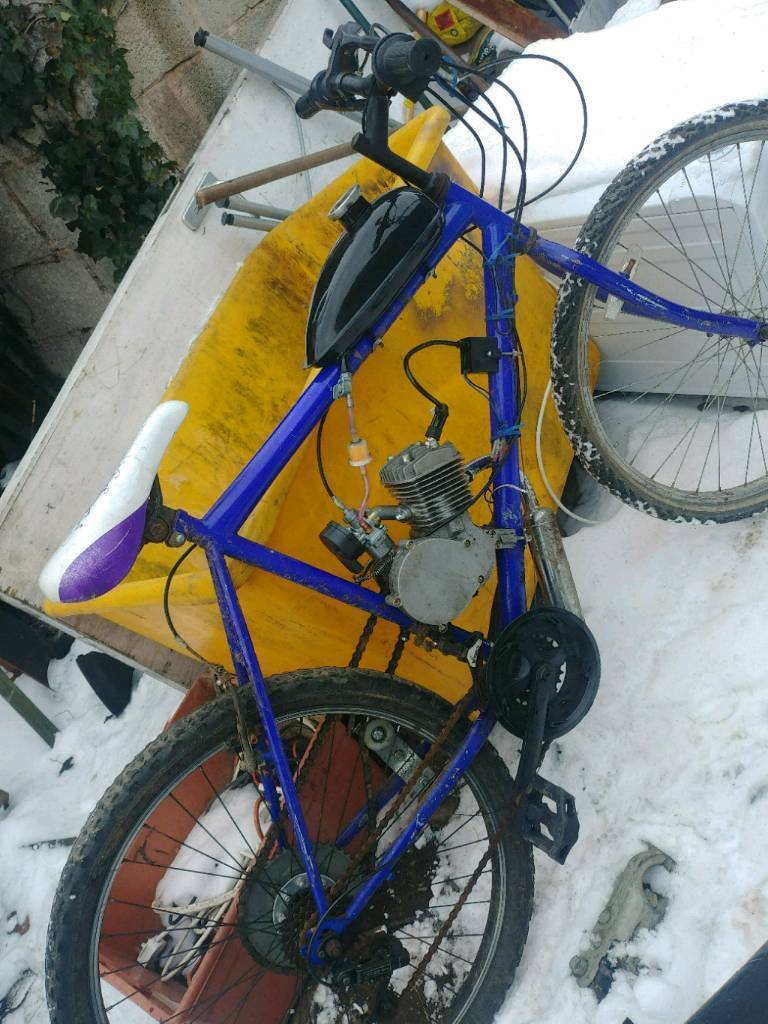 80cc Engine Mountain Push Bike Bicycle, New Build Moped | in  Kirkby-in-Ashfield, Nottinghamshire | Gumtree