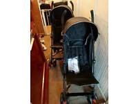 Two single pushchairs for sale used once!