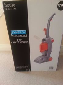 Brand New 2 in 1 Carpet/Upholstery Washer