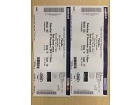 Placebo tickets (x2) Leeds Arena Sat 3rd December
