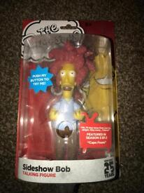 The Simpsons Sideshow Bob figure collectors item *NEVER OPENED*