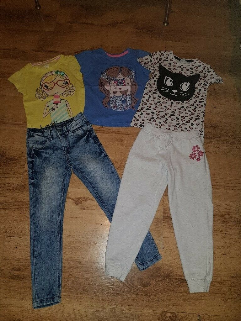 !!! Bundle of Clothes   84 pieces   size 110 - 116   Girl clothes   Perfect condition !!!