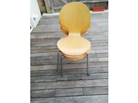 4 Bentwood chairs