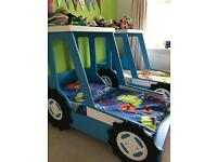 Toddler Tractor Bed