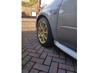 Subaru Impreza STi Widetrack wheels 17x8 5x114.3
