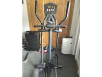 Top quality cross trainer (Smooth Fitness model CE 7.4E) in excellent condition