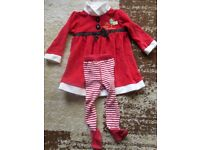 Girl's Christmas outfit 9-12m