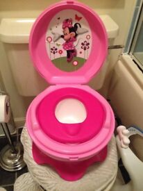 Minie Mouse Potty Training