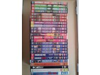 x25 DVDs Boxsets of 4