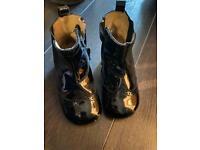 Black Spanish boots size 24