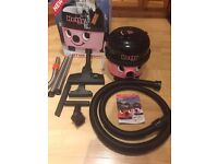 Numatic Hetty Pink Vacuum cleaner Like new with all accessories female version of Henry