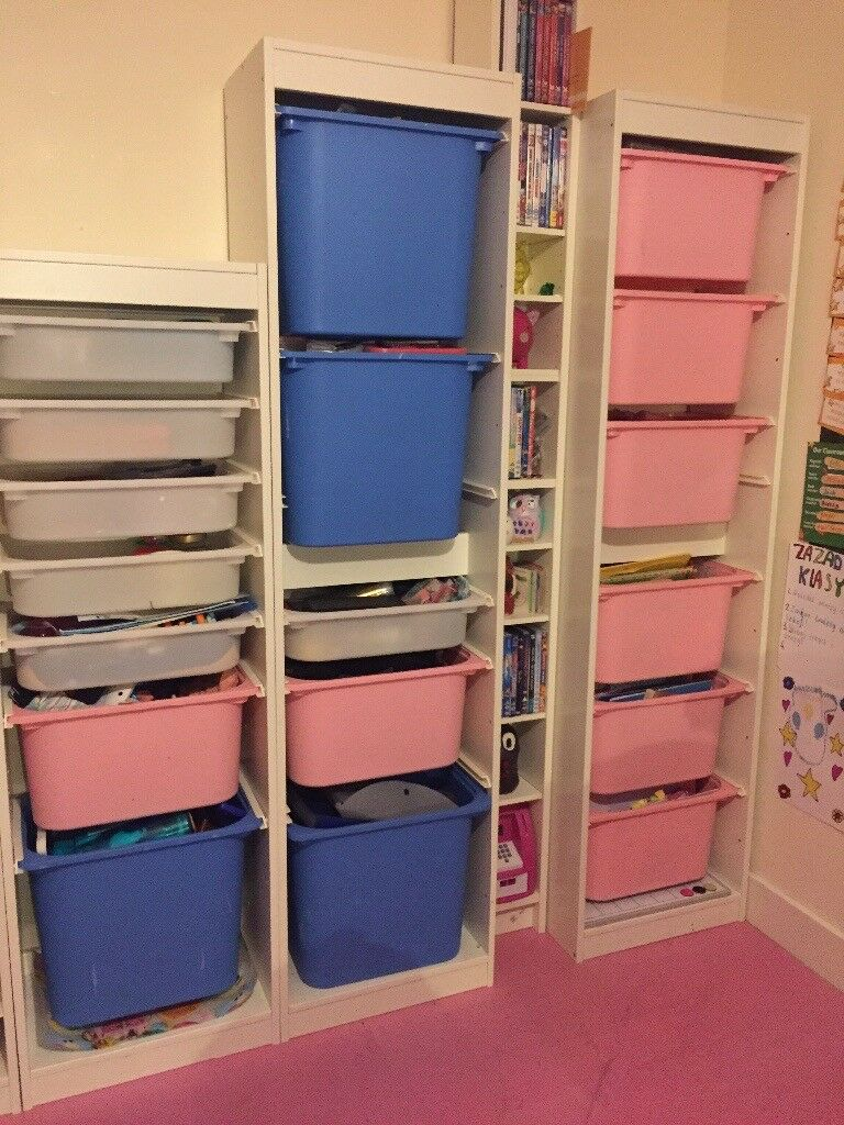 Ikea Trofast Storage combination with boxes | in Kilmarnock, East ...