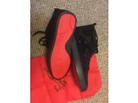 Louboutin all black size 9uk