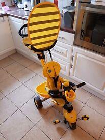 Smart trike 3 in 1 bumblebee