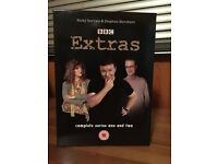 Extras Complete Series 1 & 2 on DVD