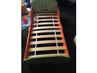 REDUCED Brand new toddlers bed with mattress never used
