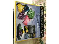 National Geographic Crystal Growing Kit - Brand new in wrapper