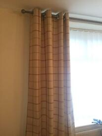 Cream curtains for sale