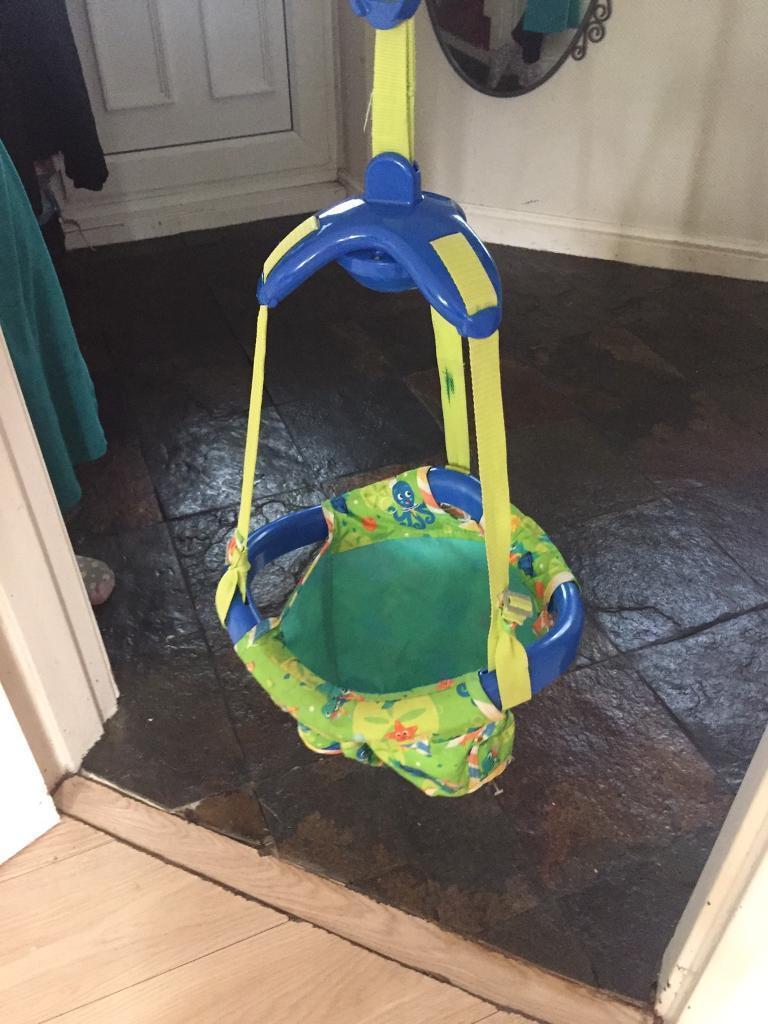 9f2fc663c Baby Einstein Sea   Discover Door Jumper Bouncer Swing