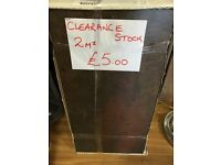 Laminate floor tiles cheap £5!