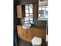 Ex display toilet and sink
