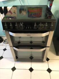 Belling electric double oven and grill
