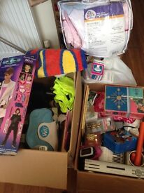Collection of car boot items