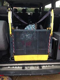 Ricon k series compact folding wheel chair lift
