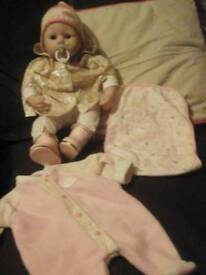 Baby anabelle interactive doll