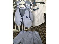 Twin Shirt wait coat and shorts