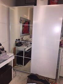 Ikea pax sliding door wardrobe with fittings!