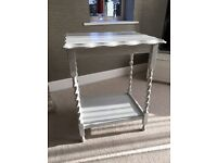 **Lovely Distressed Side Table**