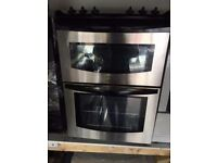 TRINITY BENDIX BLACK/ STAINLESS STEEL 60cm ELECTRIC COOKER, EXCELLENT CONDITION 4 MONTHS WARRANTY