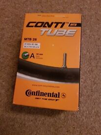 Continental MTB 26 Inner Tube 47-559 > 62-559 & 26 x 1.75 > 26 x 2.5 Schrader - BRAND NEW