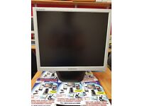Samsung monitor silver 19 inch good working condition