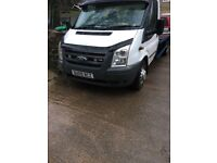 Ford transit recovery truck strong bed slide away ramps full 12 months mot no faults at all drives