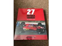 Brand New and still in wrapper - 27 Patrick Tambay The Ferrari Years Book