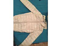 Ea7 white jacket