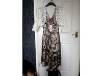 Phase Eight Dress(size10) brand new with tags, plus Phase Eight shoes(size 6) brand new with tags