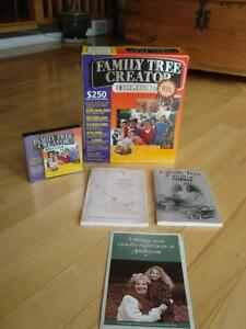 Family Tree Creator Deluxe - New (Version- Win 98) Kitchener / Waterloo Kitchener Area image 1