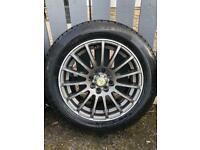 4 stud multi fit alloy wheels - Wolfrace