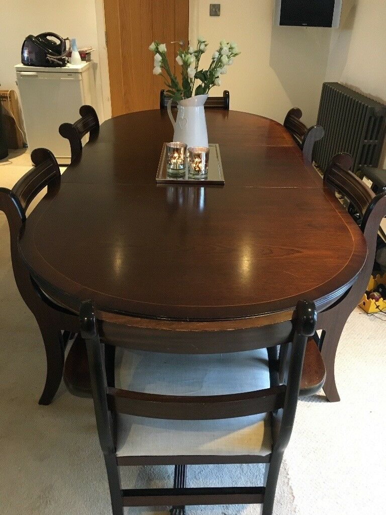 QUICK SALE Dinning Table 6 Chairs Corner Unit And Side