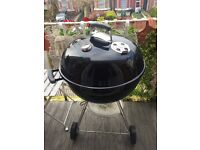 Weber® Original One-Touch 57cm BBQ With Cover (Excellent Condition/Lightly Used)