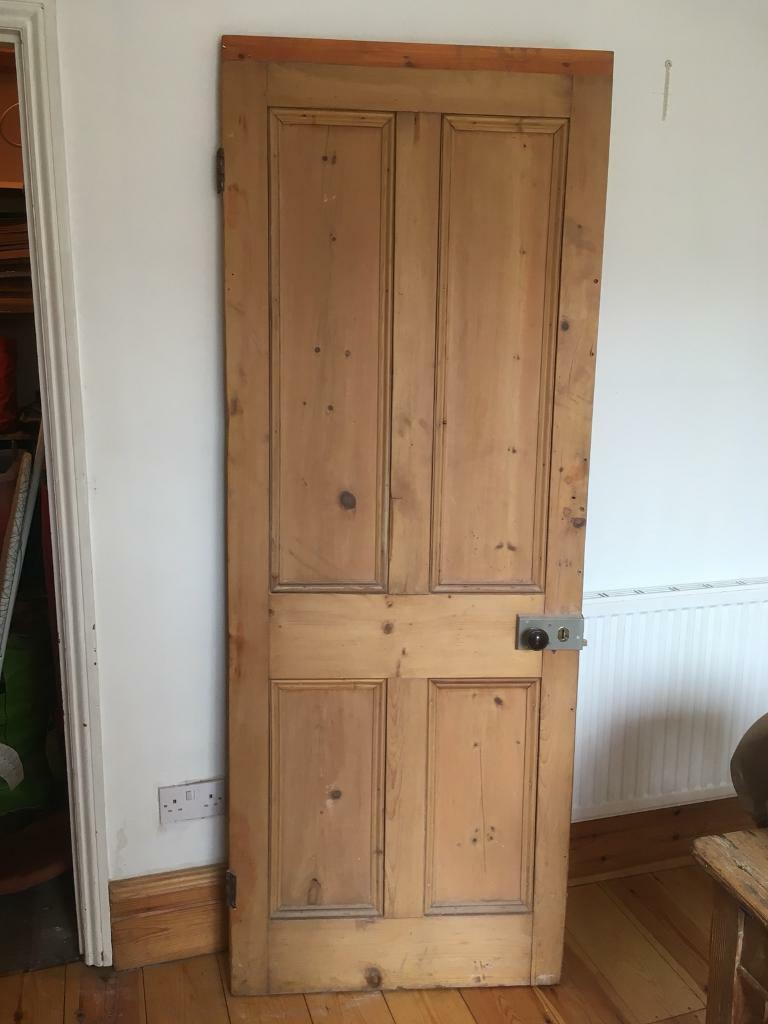 Internal Solid Wood Door 4 Panel In Easton Bristol Gumtree