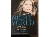 Night worlds books set of 3 by L.j.Smith