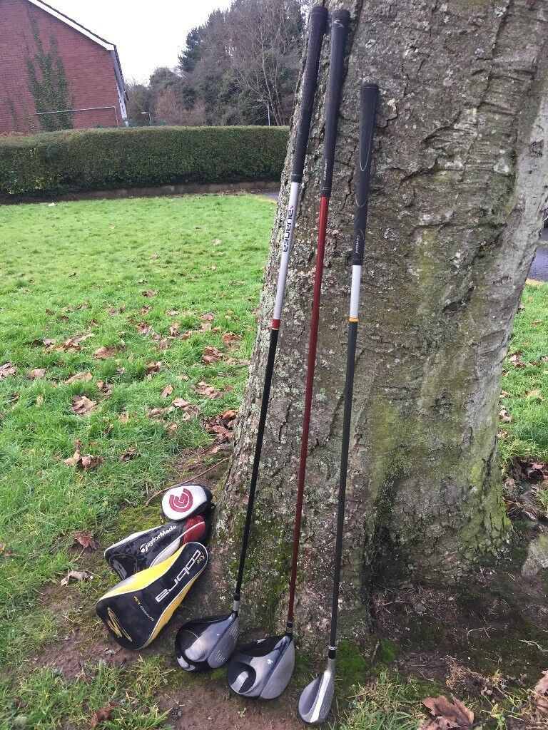 3 golf clubs for sale
