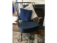 Ercol evergreen armchair chair with new single seat cushion