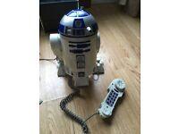 R2D2 Telephone retro