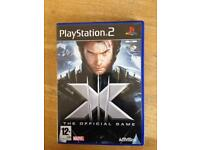 PlayStation 2 X men the official game